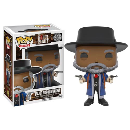 The Hateful Eight Major Marquis Warren Pop! Vinyl Figure