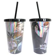 Black Butler with Special Texture 18 oz. Travel Cup