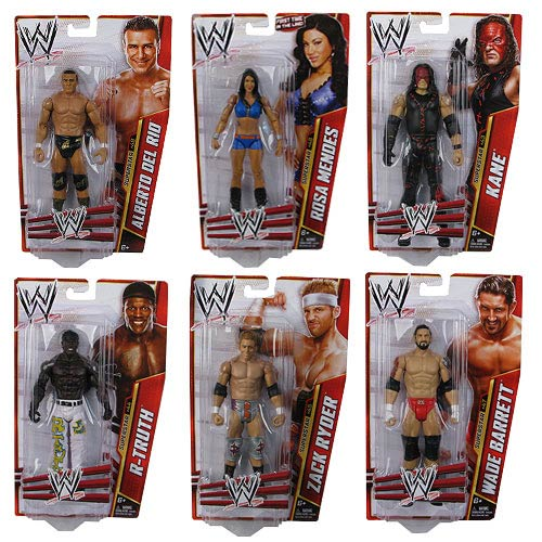 WWE Basic Figure Series 31 Action Figure Case