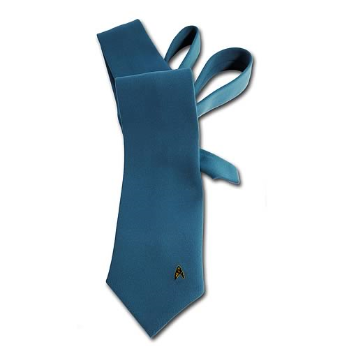 Star Trek Costume Fabric Blue Neck Tie