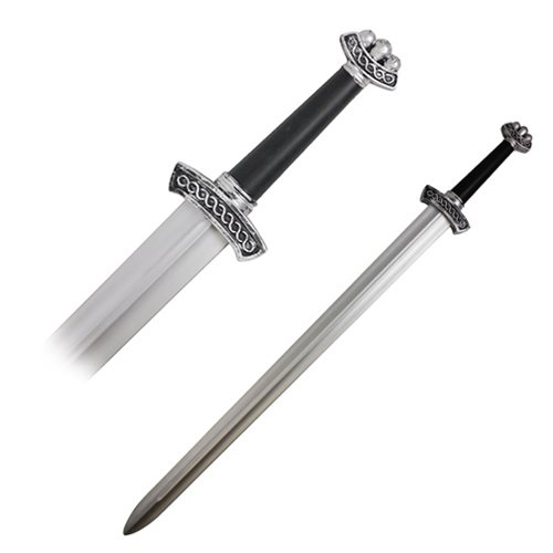 Hero's Edge Silver Viking Foam Sword