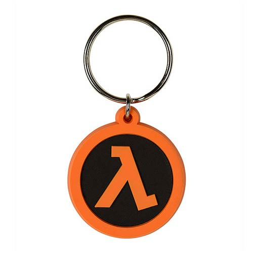 Half-Life 2 Lambda Rubber Key Chain