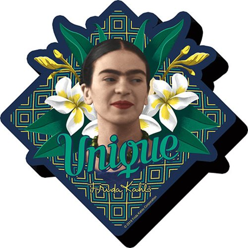 Frida Kahlo Unique Funky Chunky Magnet