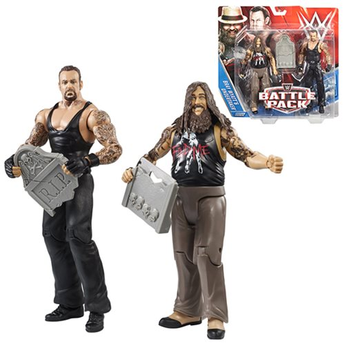 WWE Basic Series 38 Bray Wyatt and Undertaker Action Figure 2-Pack