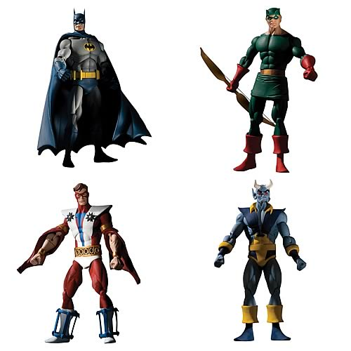 History of the DC Universe Series 1 Action Figure Set