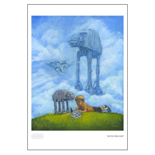 Star Wars Hoth Dreams by Christian Slade Paper Giclee Art Print