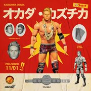 New Japan Pro-Wrestling Ultimates Kazuchika Okada Action Figure