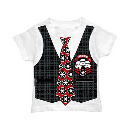 Star Wars Stormtrooper Toddler Costume T-Shirt