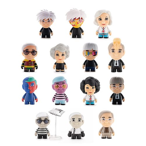 Andy Warhol Many Faces of Andy Mini-Figure Display Tray