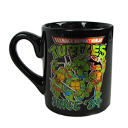 Teenage Mutant Ninja Turtles Group Shot Since 84 14 oz. Ceramic Laser Print Mug