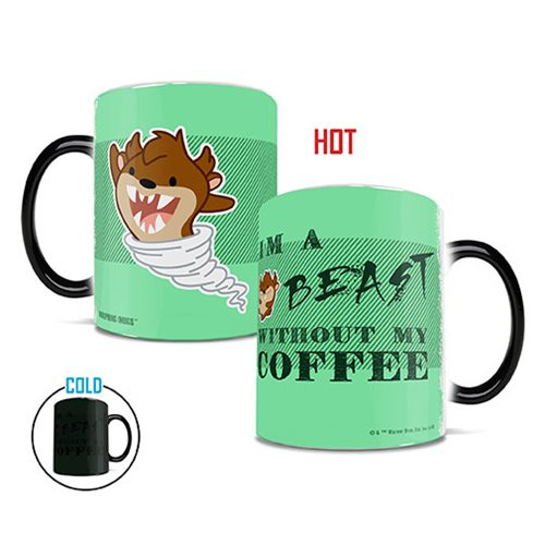 Looney Tunes Cartoon Coffee Beast Heat-Sensitive Morphing Mug