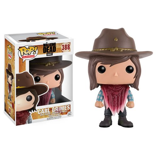 The Walking Dead Carl Pop! Vinyl Figure, Not Mint