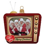 I Love Lucy Television Glass Ornament