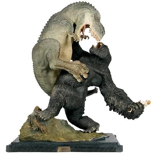 King Kong V Rex Vs Kong Statue Entertainment Earth