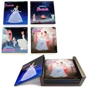 Cinderella StarFire Prints Glass Coaster Set