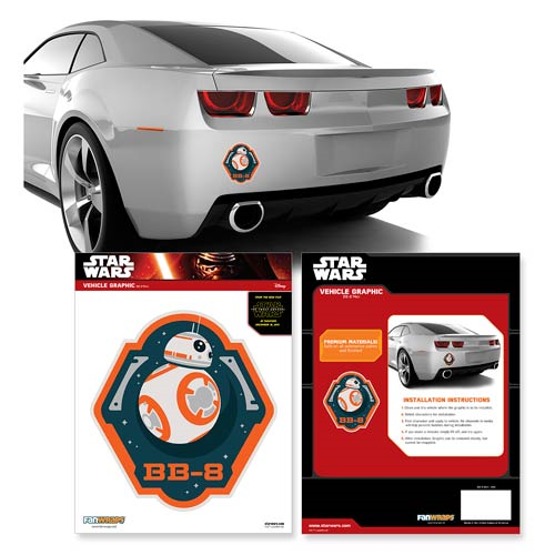 Star Wars: Episode VII - The Force Awakens BB-8 Mini Car Decal