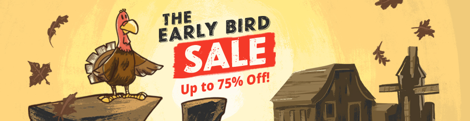Early Bird Sale 2019