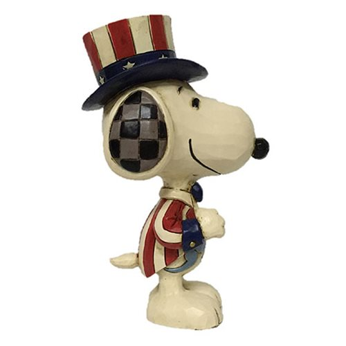 Peanuts Snoopy Mini Patriotic by Jim Shore Statue