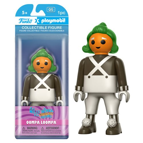 Willy Wonka and the Chocolate Factory Oompa Loompa 5-Inch Playmobil Action Figure