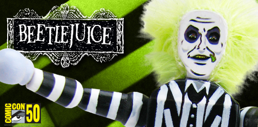 San Diego Comic-Con 2019 Beetlejuice Push Puppet