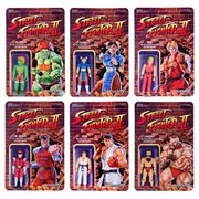 Street Fighter II Retro Action Figures Wave 1 Set