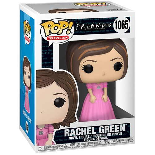 Friends Rachel in Pink Dress Pop! Vinyl Figure