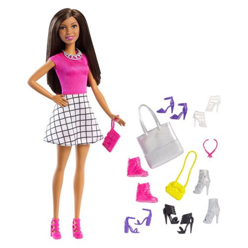 Barbie Nikki Doll and Accessory Set