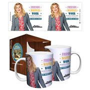 Parks and Recreation Friends Waffles Work 11 oz. Mug