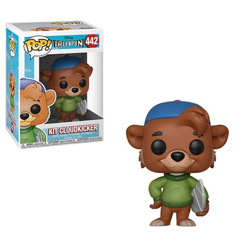 Talespin Kit Cloudkicker Pop Vinyl Figure 442 Entertainment Earth