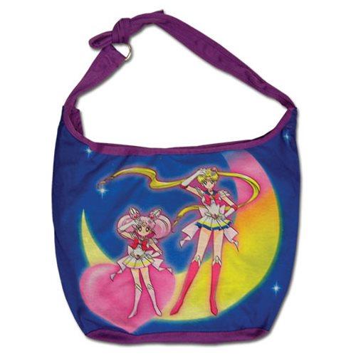Sailor Moon Super S Characters Group Hobo Messenger Bag
