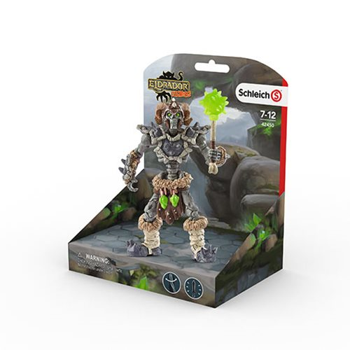 Eldrador Stone World Stone Skeleton Collectible Figure