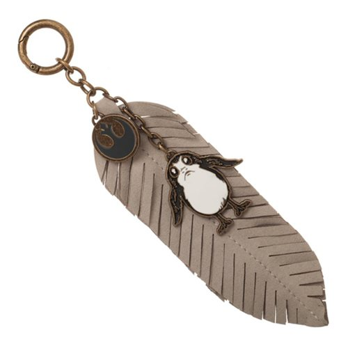 Star Wars: The Last Jedi Porg Feather Key Chain