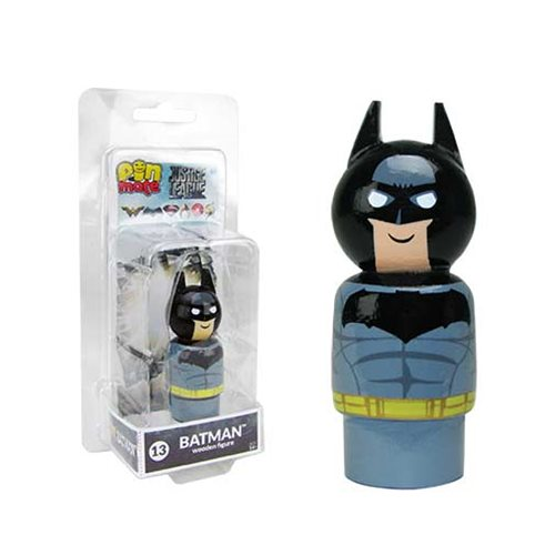 Justice League Movie Batman Pin Mate Wooden Figure