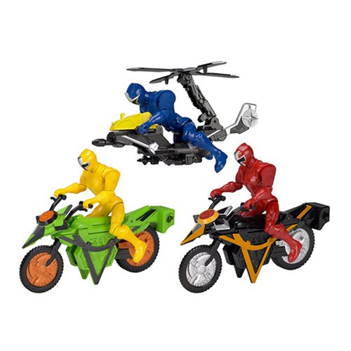 Power Rangers Ninja Steel Mega Morph Vehicle Case