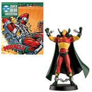 DC Superhero Best Of Mister Miracle Statue with Magazine #58