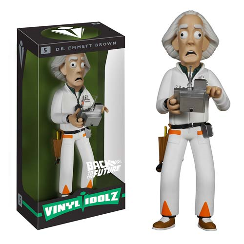 Back to the Future Dr. Emmett Brown Vinyl Idolz Figure
