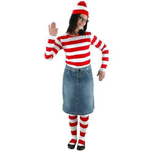 Where's Waldo Wenda Adult Costume Kit
