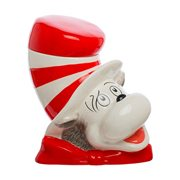 Cat in the Hat Sculpted Ceramic Cookie Jar