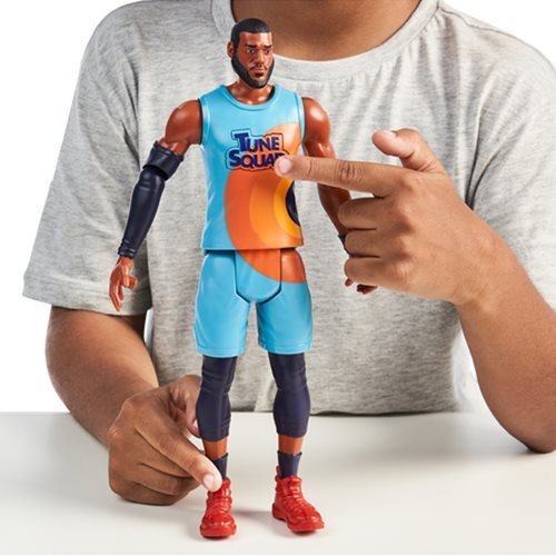 Space Jam LeBron James 12-Inch Deluxe Action Figure
