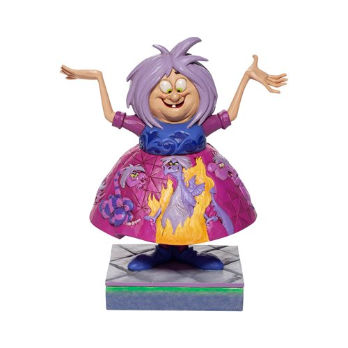 Disney Traditions Sword in the Stone Madam Mim with Scene Statue by Jim Shore