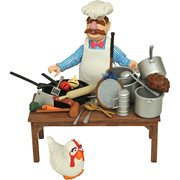 Muppets Swedish Chef Deluxe Action Figure Set