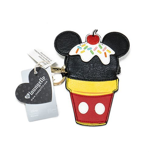 Mickey Mouse Ice Cream Cone Coin Bag