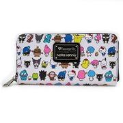 Hello Kitty Sanrio Character Print Zip-Around Wallet