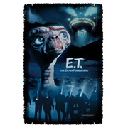 E.T. Title Woven Tapestry Throw Blanket
