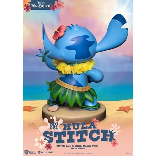 Lilo & Stitch Hula Stitch MC-031 Master Craft Statue