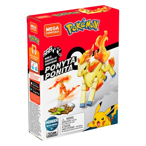 Pokemon Mega Construx Ponyta Power Pack