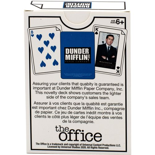 The Office Salesman Playing Cards