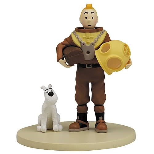 Adventures of Tintin Tintin and Snowy Dive Suit Mini-Figure