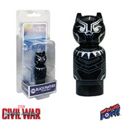 Captain America: Civil War Black Panther Pin Mate Wooden Figure