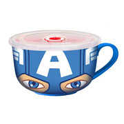 Captain America Travel Soup Mug